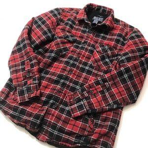 American Rag fleece lined flannel